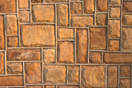 yellow stone: Muro de piedra amarilla