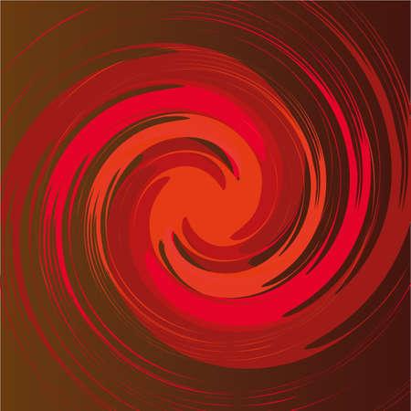 plunge: spiral shape in vector Illustration