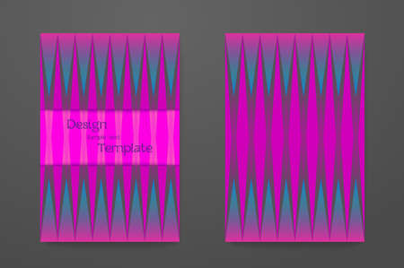 Abstract elegant pattern for booklet layout. 矢量图像
