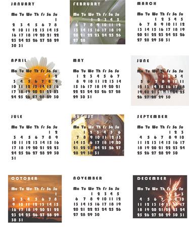 2006 Calendar Stock Vector