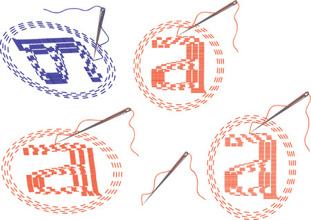 e-mail symbol icons Illustration
