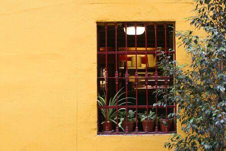 Barcelona gothic neighbourhood typical window
