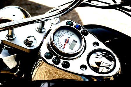 motorcycle detail speed gauge