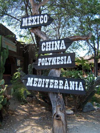 prefer: Signals to different places in the world: Mexico, China, Polynesia or Mediterranean. Where do you prefer to travel?