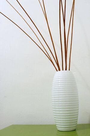 wicker inside a jar in a interiors image
