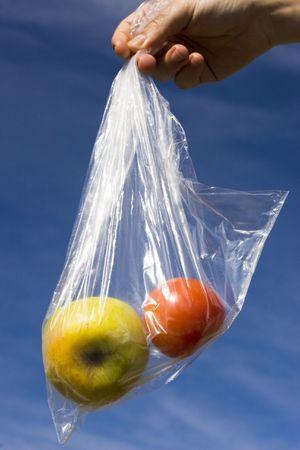 fruit in a bag