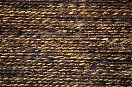 Close up of a rope background texture