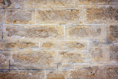 Detail of an old sandstone wall. Stock Photo - 17307057