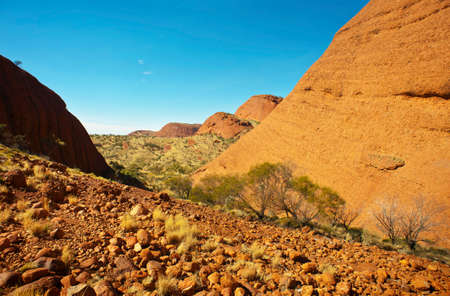 The Olgas, in the Australian outback, a must see tourist destination.