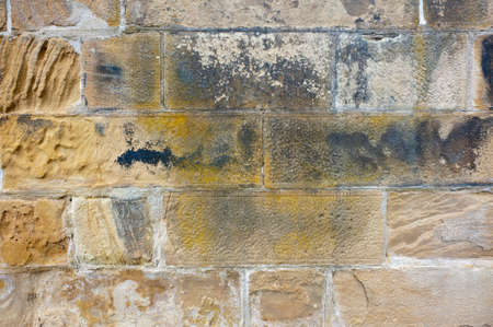 Background image of stone wall texture.
