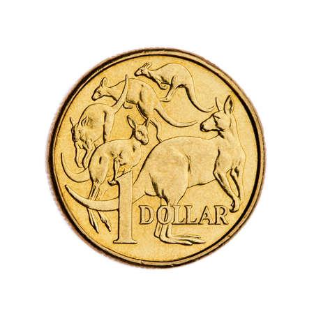 Australian 1 dollar coin Stock Photo - 8020025