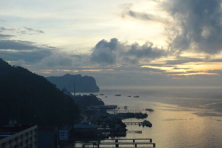 sandakan: Sandakan early in the morning