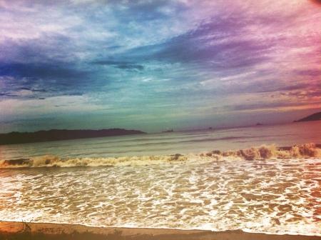 likas: Tanjung Lipat beach Likas Kota Kinabalu Sabah