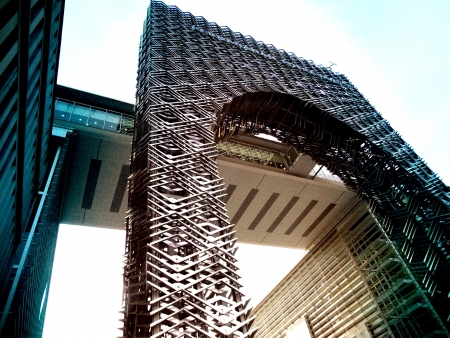 steel: Awesome steel architectural building in Putra Jaya Malaysia