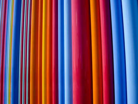 完全なスペクトルの原色の線 写真素材