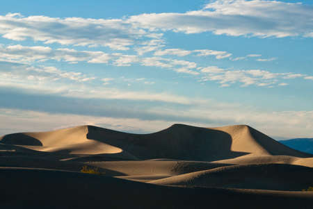 stovepipe: Majestic dunes at dusk in Stovepipe Wells in Mesquite Flats