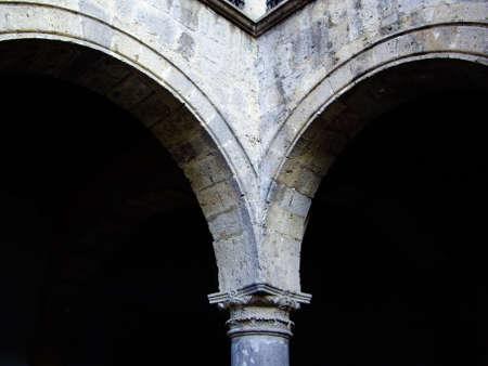 guadalajara: Colonial archways in  Guadalajara,Mexico