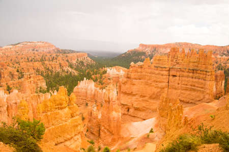 Bryce Canyon National Park, Utah USA after the storm