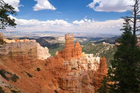 crevice: Bryce Canyon National Park, Utah USA