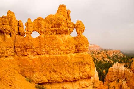 Bryce Canyon rock formations, Utah USA