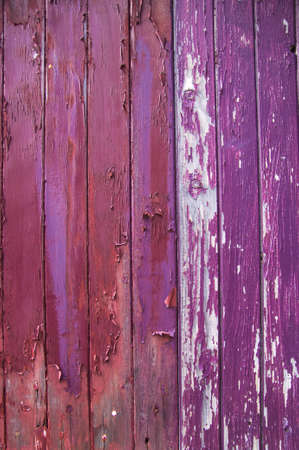 Weathered boards lose paintwork