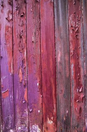 Grunge paint on old wood