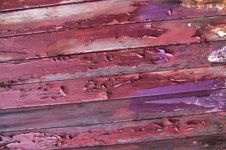 Old and peeling paint on wood Stock fotó