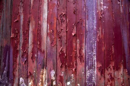 Grunge colors of peeling wood