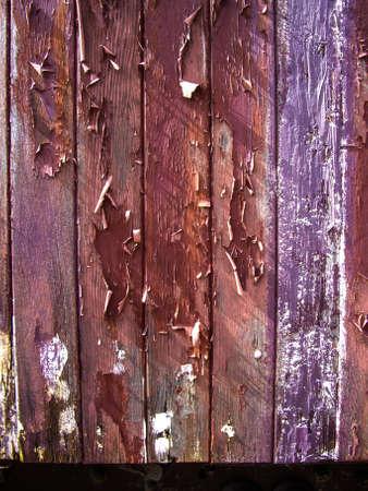 Grange color paint on wood