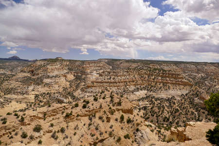 Great sandstone mountain desert of New Mexico Stock fotó