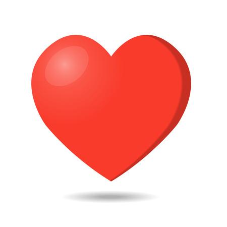 A Vector heart shape symbol design