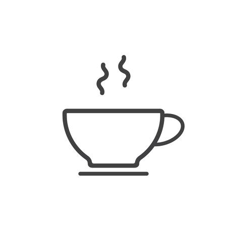 Coffee cup icon Фото со стока - 93062312