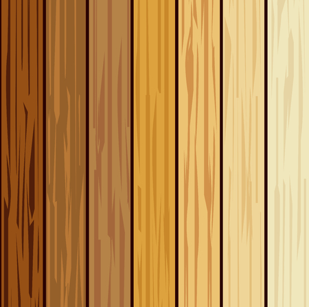 Wood collections realistic texture design background, vector illustration