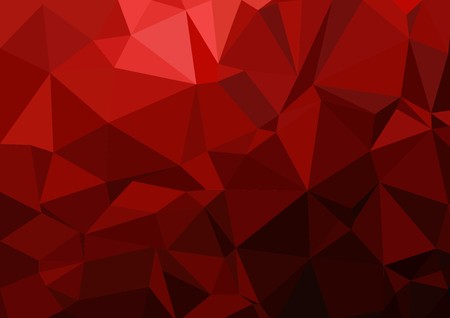 Multi color geometric rumpled triangular low poly style gradient illustration graphic background vector polygonal design for your business. Illustration