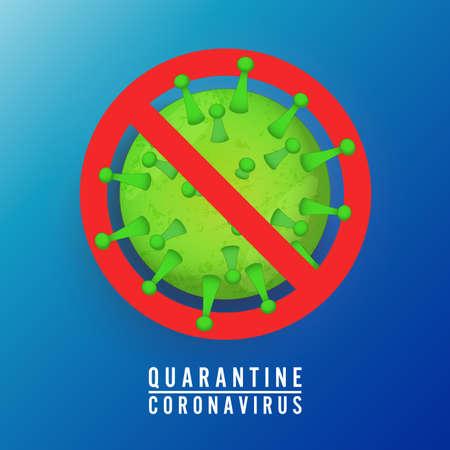 Stop Covid-19 Sign & Symbol, vector Illustration concept coronavirus COVID-19.