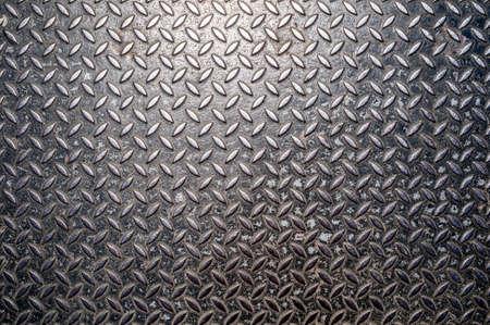 Iron plate texture Stock Photo