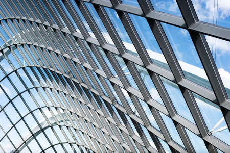 framing: Glass and framing design of architecture