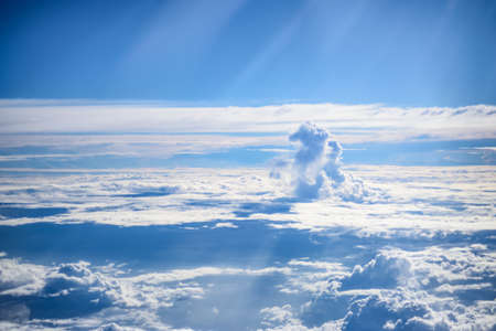 heave: Horse cloud formation Stock Photo