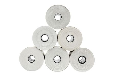 Six rolls of thermo paper for receipt printers and POS-terminals photo