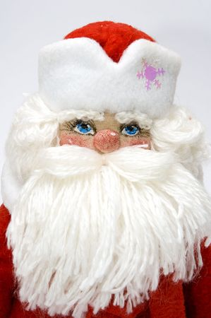 grandfather frost: Grandfather Frost, russian analogue of Santa Claus. Symbol of New Year celebration. Stock Photo