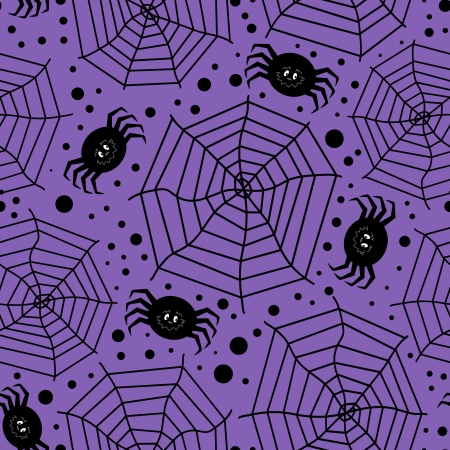 Seamless background with Halloween theme