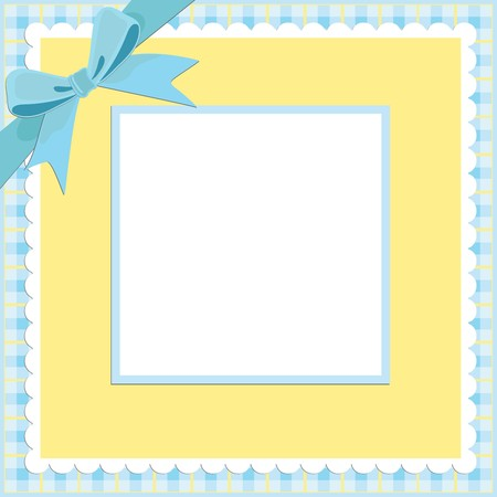 Blank background for greetings card, postcard or photo frame Vector