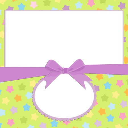 scrap book: Blank background for greetings card, postcard or photo frame