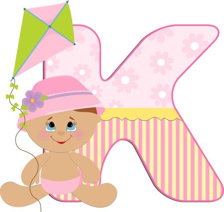 babys: Babys illustrated ABC alphabet Illustration