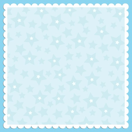 blue frame: Blank template for greetings card or photo frame in blue colors