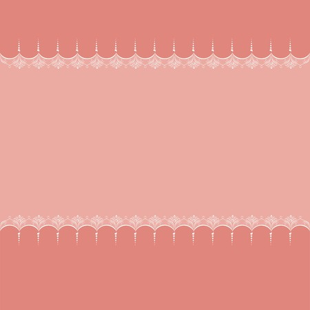 Blank background for romantic photo frame, postcard or greetings card (EPS10) Vector