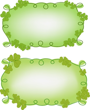 Banner templates for St. Patrick's day Stock Vector - 9117006