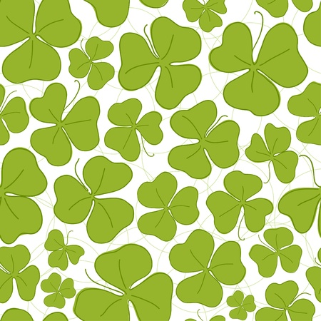 Saint Patricks Day seamless pattern wallpaper Vector