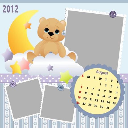 Baby calendar 2012