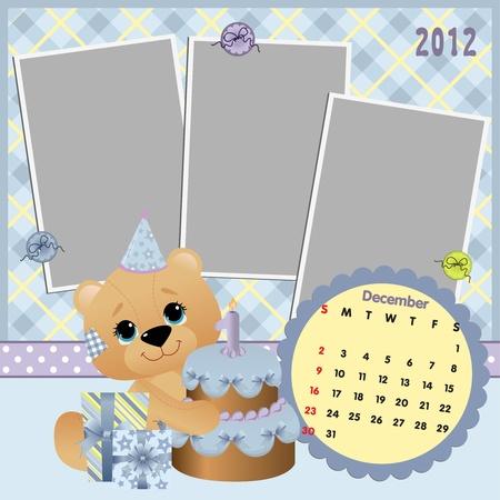 6,030 Birthday Calendar Illustration Stock Illustrations, Cliparts ...